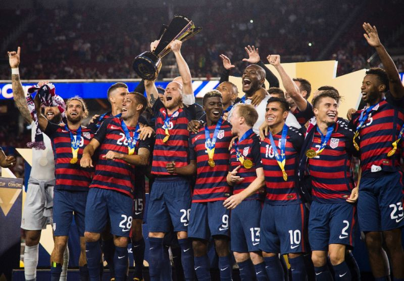 USA beat Jamaica 2-1 to win 6th CONCACAF Gold Cup