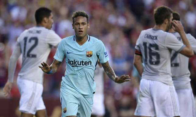 Neymar scores as Barca beat Man Utd 1-0