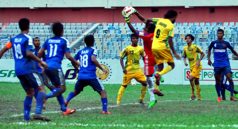 Rahmatganj hold Sheikh Jamal 1-1
