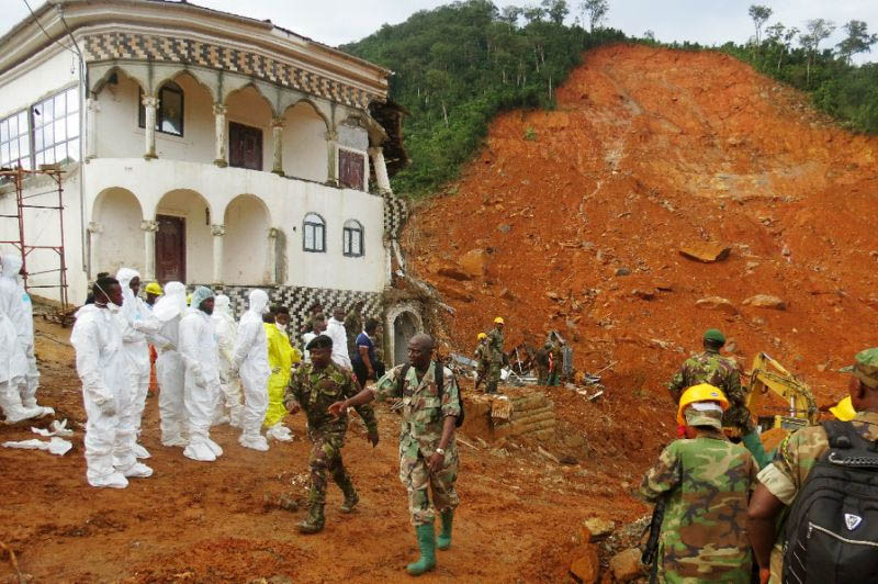 Fears for 600 still missing in Sierra Leone floods