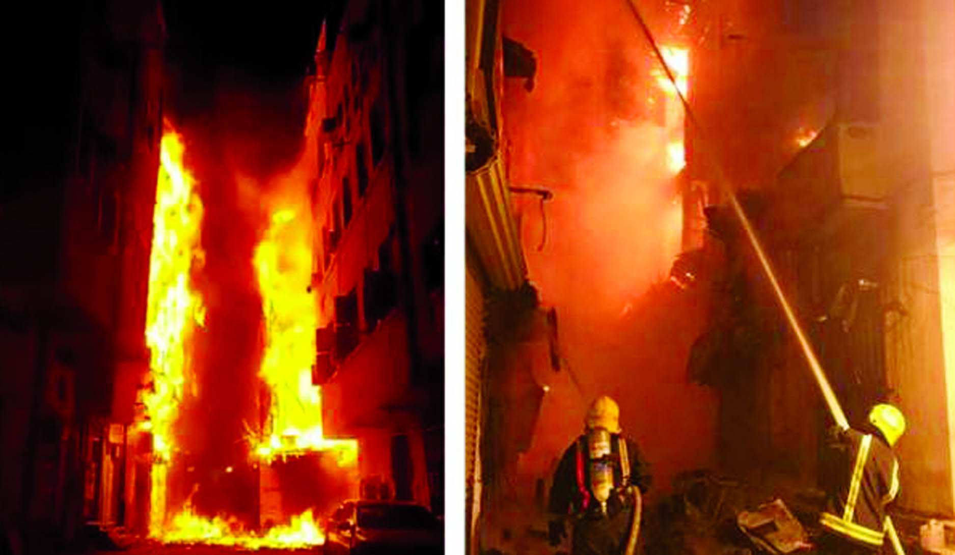 6 buildings in Jeddah's old town go up in flames