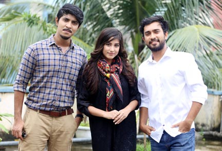 Three youths' Eid web series 'Baghbondi'