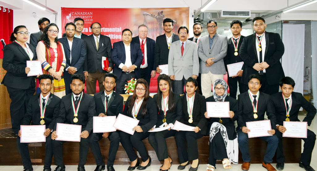 Intra departmental moot court competition at CUB