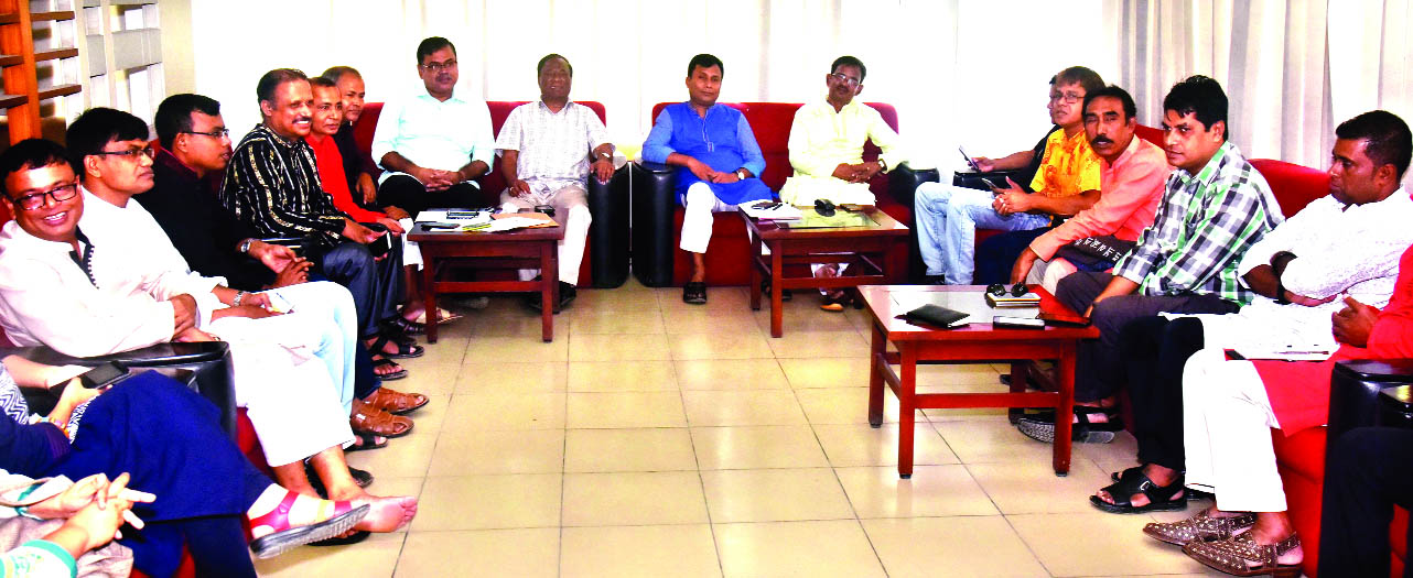 The first meeting of the executive committee of Barisal Divisional Journalist Welfare Association was held at the Jatiya Press Club yesterday. M Azizul Islam Bhuiyan, President of the association presided over the meeting.
