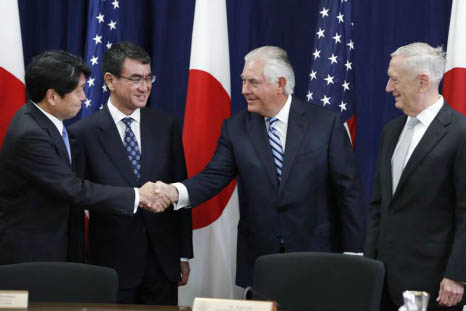 US, Japan to advance security, defence ties with India, South Korea and Australia