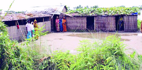 Nine UZs flooded in Naogaon