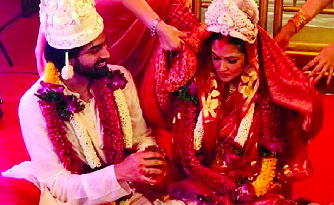 Riya Sen ties the knot with