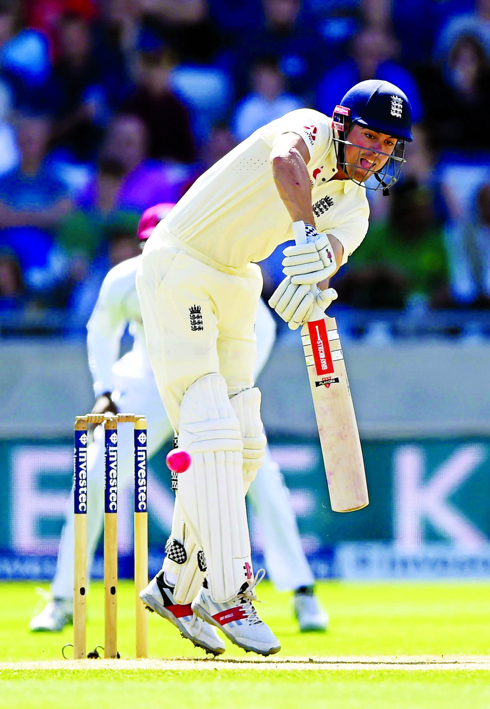 Root, Cook make centuries in England's 1st day-night test