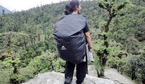 Pack right before travelling during monsoon season