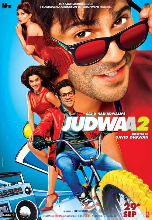 The hilarious Judwaa 2 trailer laced with  double the fun