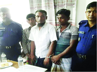 MURADNAGAR(Comilla): Two drug traders were arrested from