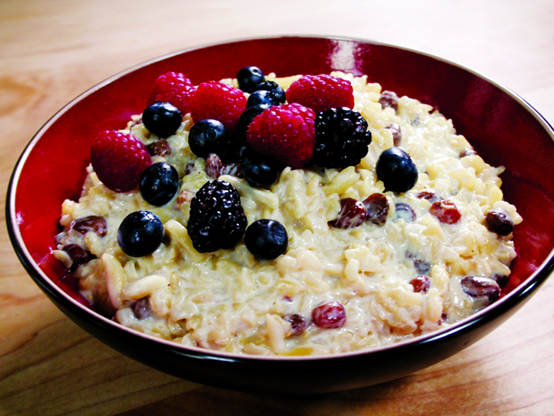 Brown Sugar Rice Pudding with Prunes Total Time - 1 hour 20 mins Serves - 3-4