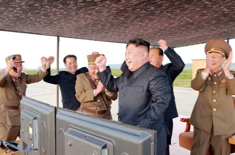 North Korea seeks `equilibrium` of military force with US