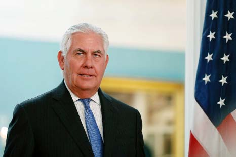 US may stay in Paris climate accord : Tillerson