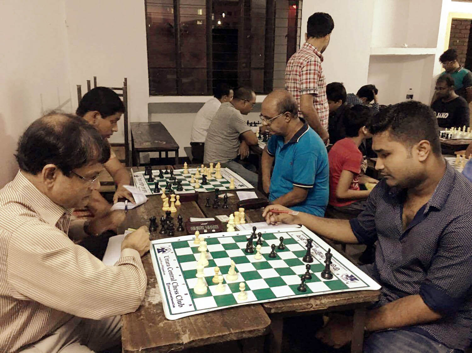 Five players share top slot in Standard Rating Chess