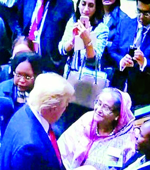 BD expects no help from Trump: Hasina