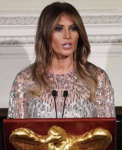Melania threatens lawsuit over English class billboard