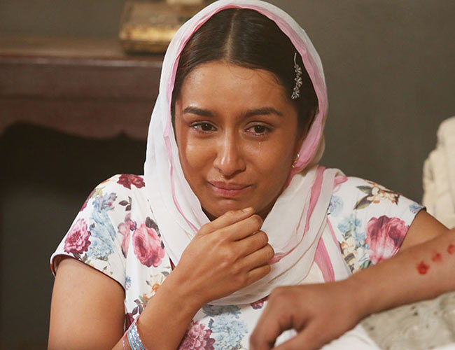 What made Shraddha break down on the sets of Haseena Parkar?