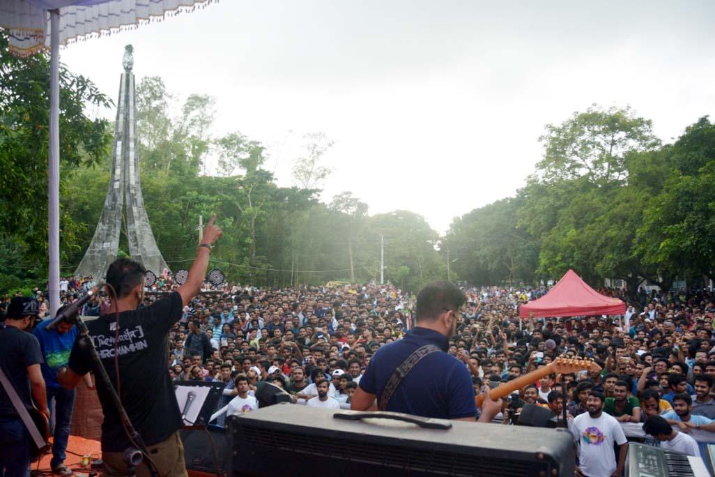 Airtel organises YOLO Fest at CU