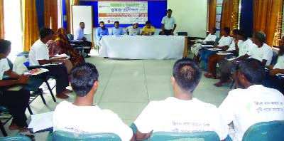RANGPUR:  A farmers' training course on Zink Paddy Varieties and benefits of Zink  was organised for expansion of Zink -enriched BRRI dhan 72  in Nilphamari on Tuesday.