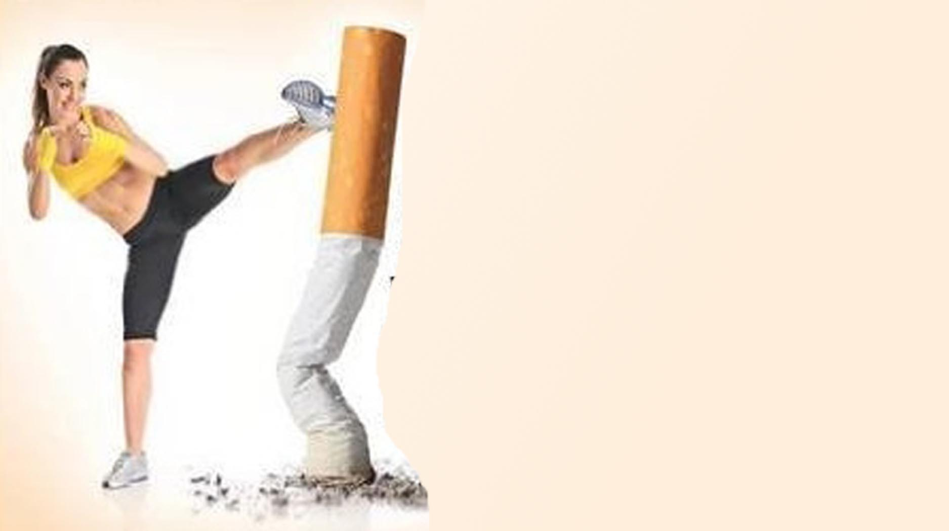 Running may help  you quit smoking