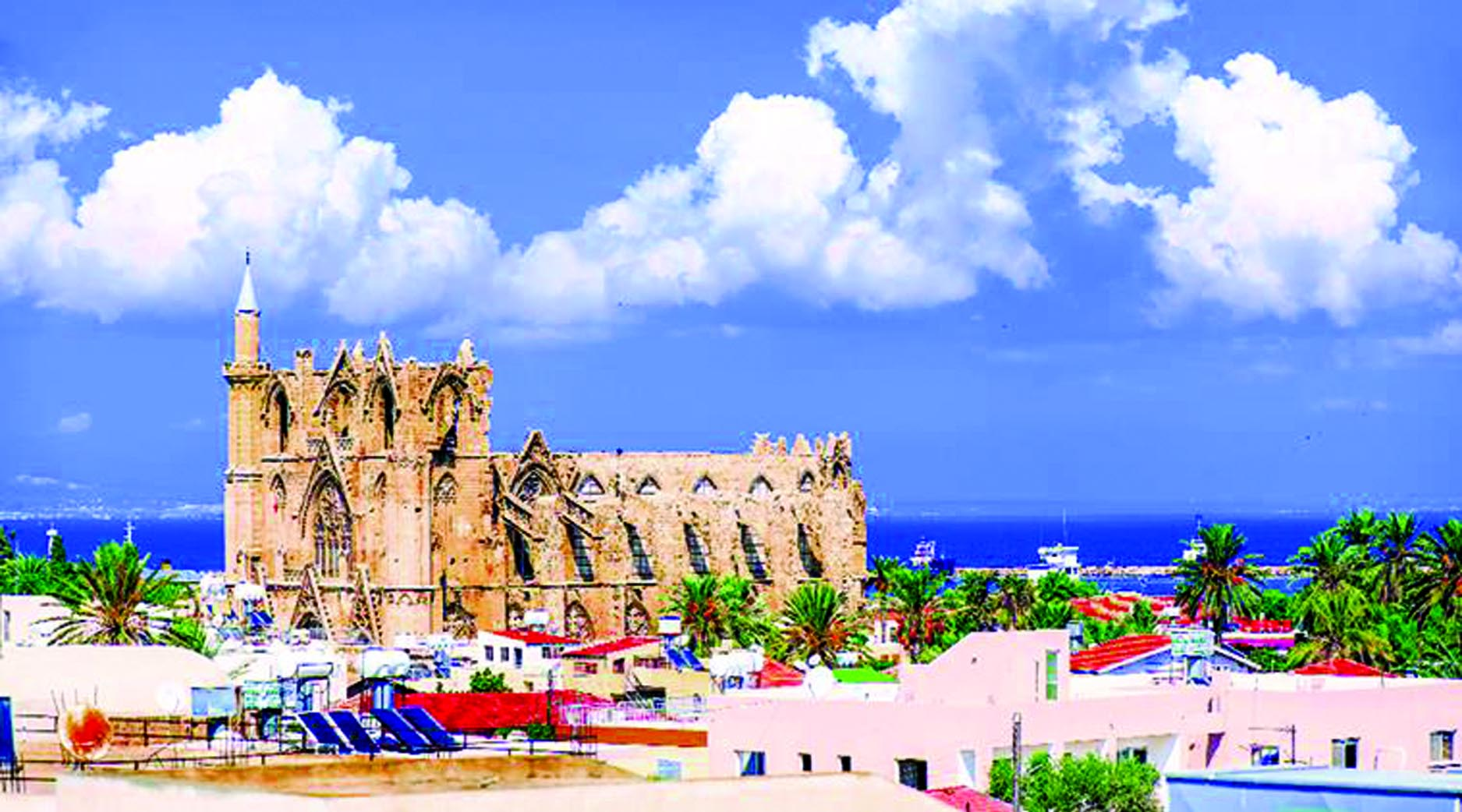 In search of Famagusta: Wandering in a beautiful Mediterranean island, Cyprus