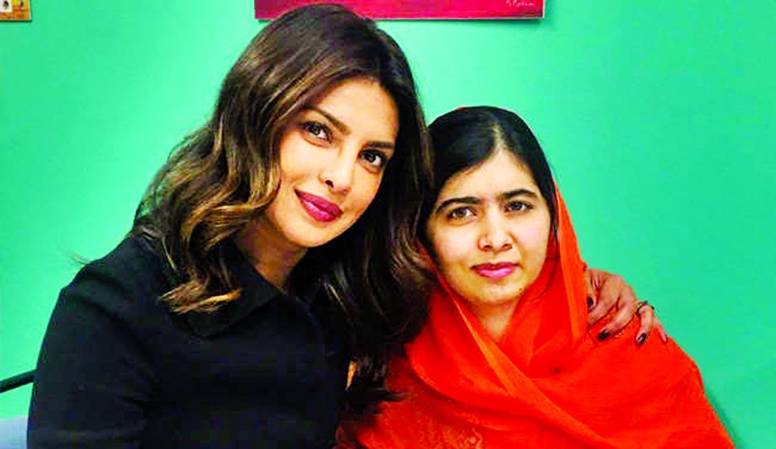 Priyanka thanks Malala