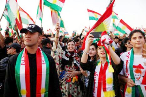 Kurds press historic independence vote despite regional fears