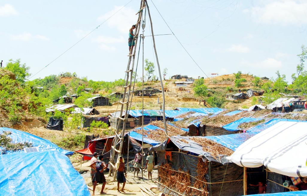 Coordination body meet on Rohingyas held