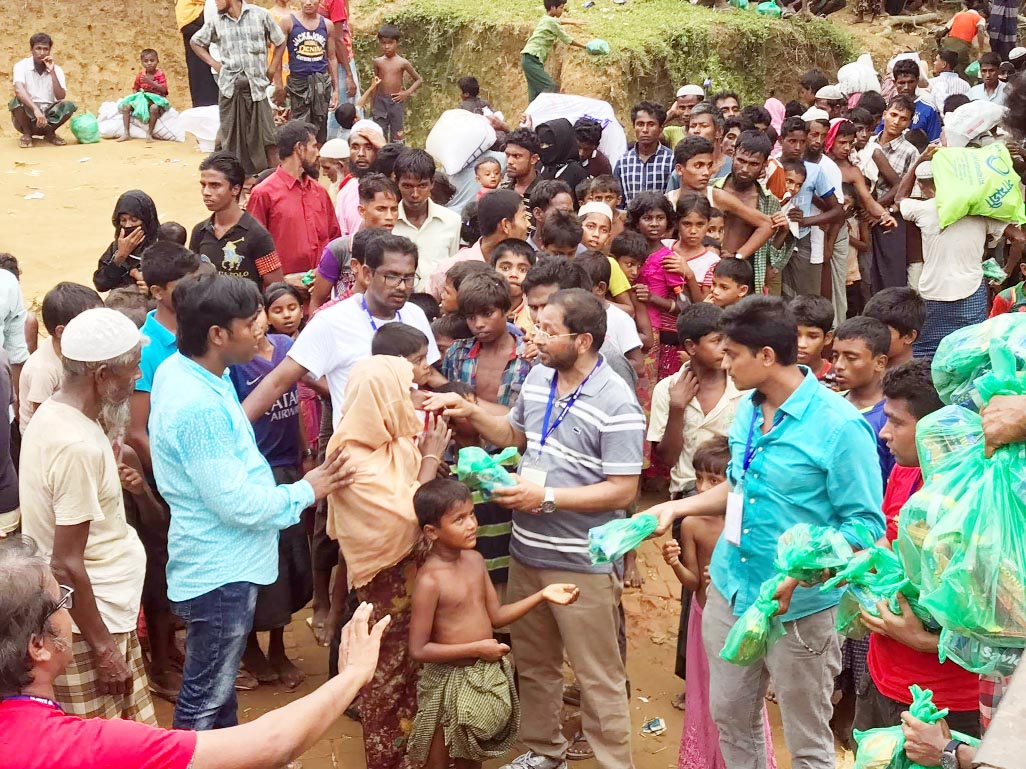 KAMPS stands by Rohingya refugees in Cox's Bazar
