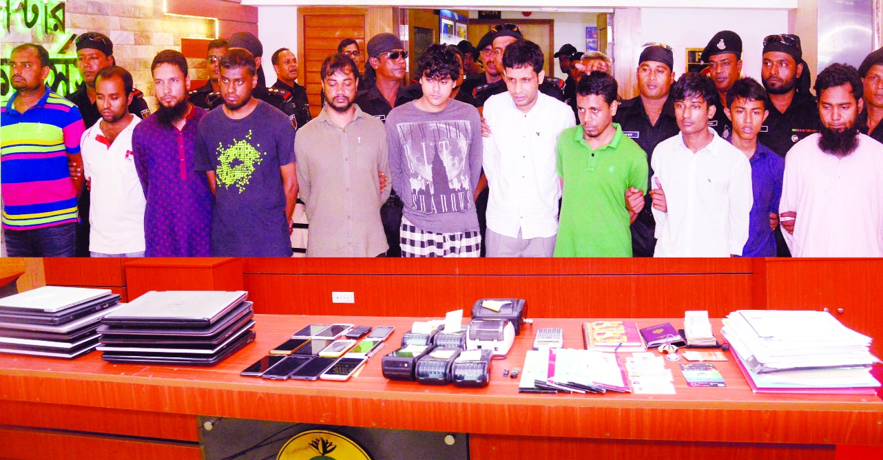 11 held for 'funding militancy'