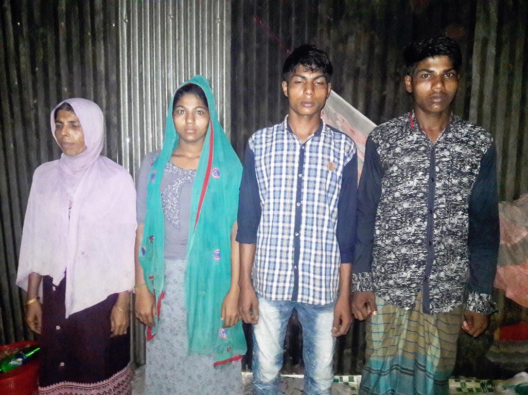 Four Rohingyas sent back to refugee camp