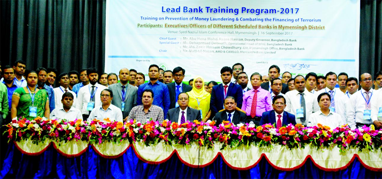 Abu Hena Mohd. Razee Hassan, Deputy Governor of Bangladesh Bank, inaugurating a day-long training programme on