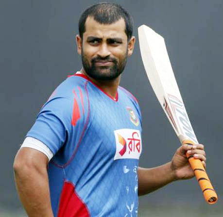 Tamim Iqbal starts practice