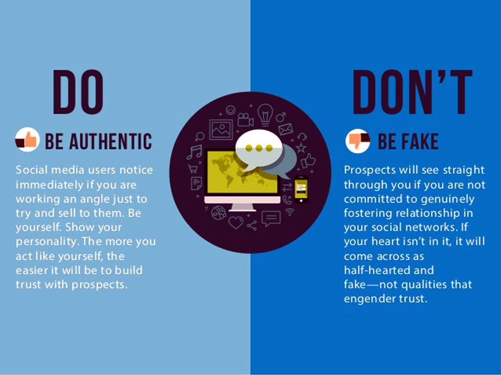 Do's and don'ts for students in social media