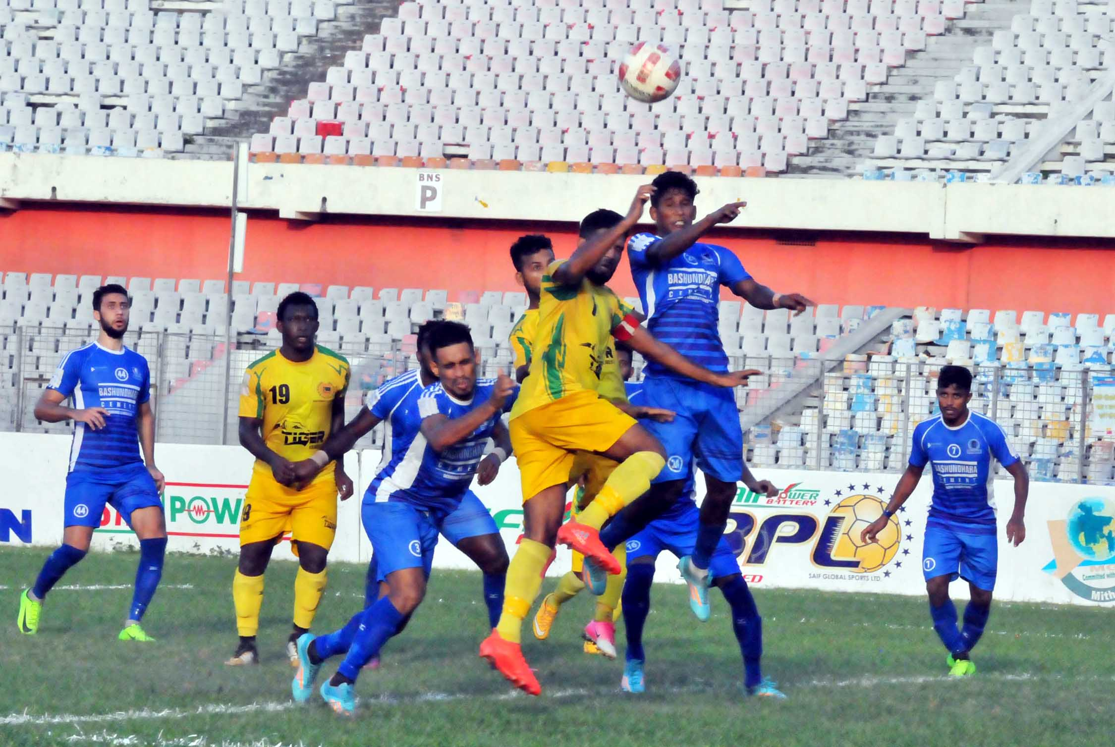 Rahmatganj hold Sheikh Russel in BPL Football