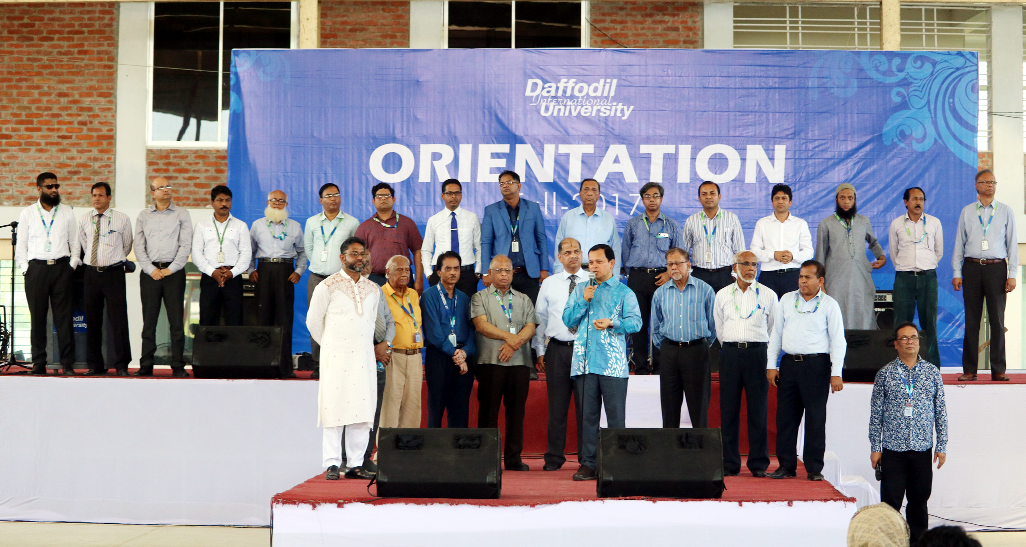 DIU holds orientation for Fall- '17  freshers