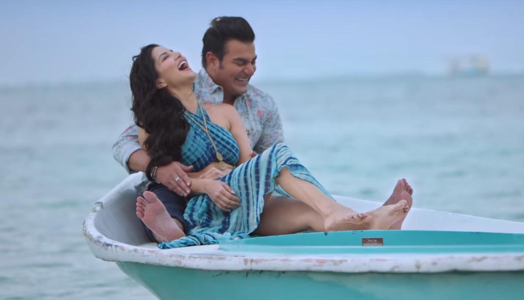 Sunny Leone romancing Arbaaz Khan