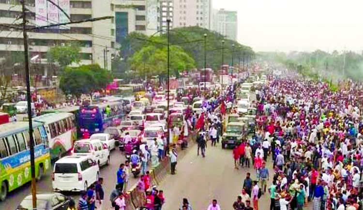 Traffic chaos in city as Khaleda returns home