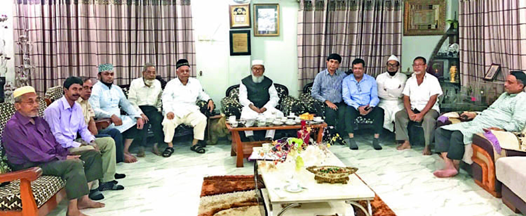 14 -Party Alliance  meeting led by Awami League held at the residence of Alhaj A B M Mohiuddin Chowdhury, President, Chittagong City Awami League  at Chasma Hill in the Port City on Tuesday evening.