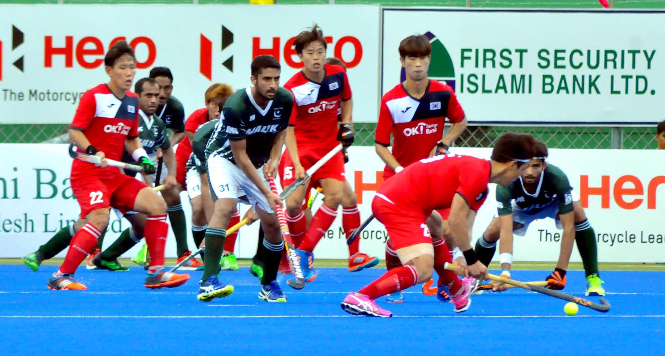Holders South Korea play 1-1 draw against Pakistan