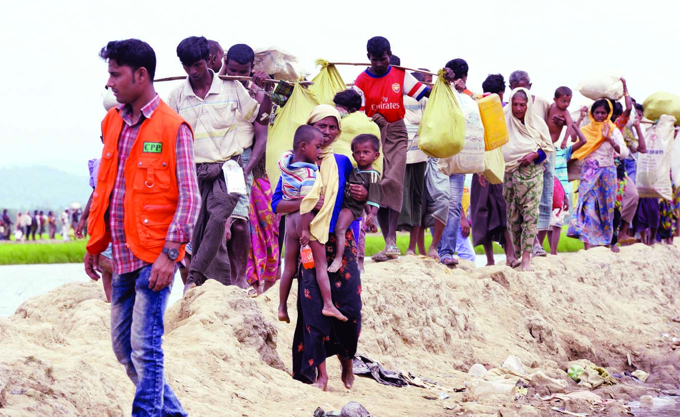 20,000 stranded in no-man's land, entered BD