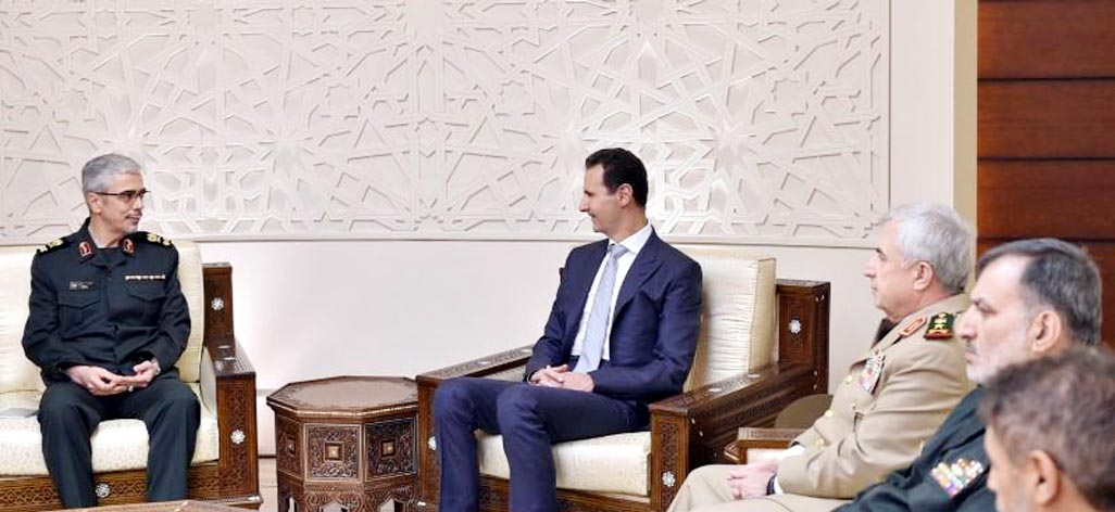 Iranian Army chief, Assad discuss joint military strategy