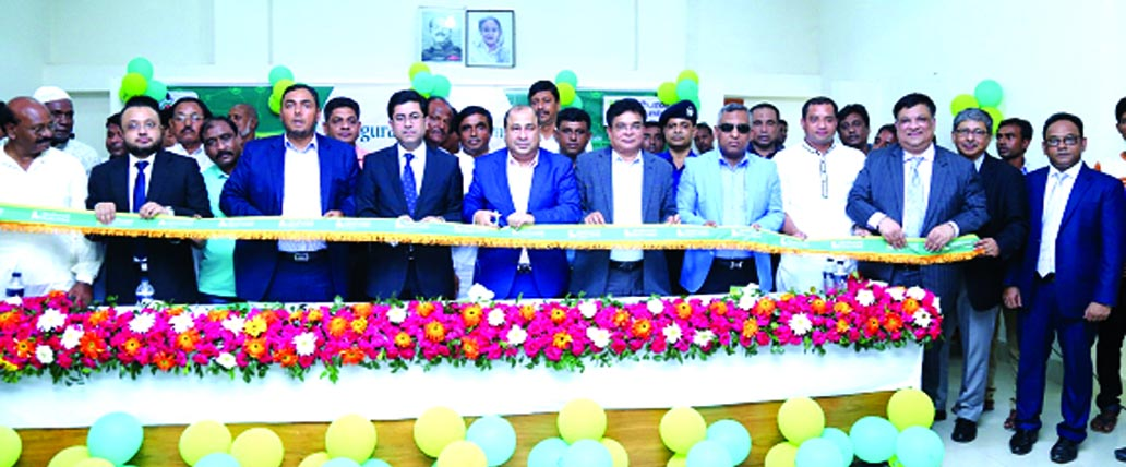 Humayun Kabir, Chairman of the Board of Directors of Modhumoti Bank Limited, inaugurating its 'Digital Banking