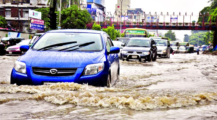 Rains paralyse life; more expected until today