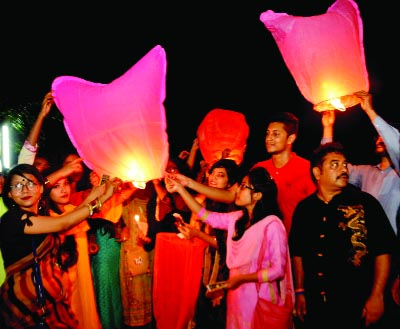 BOGRA: The Diwali Festival was  celebrated at Shaheed Ziaur Rahman Medical College Hospital on Thursday.