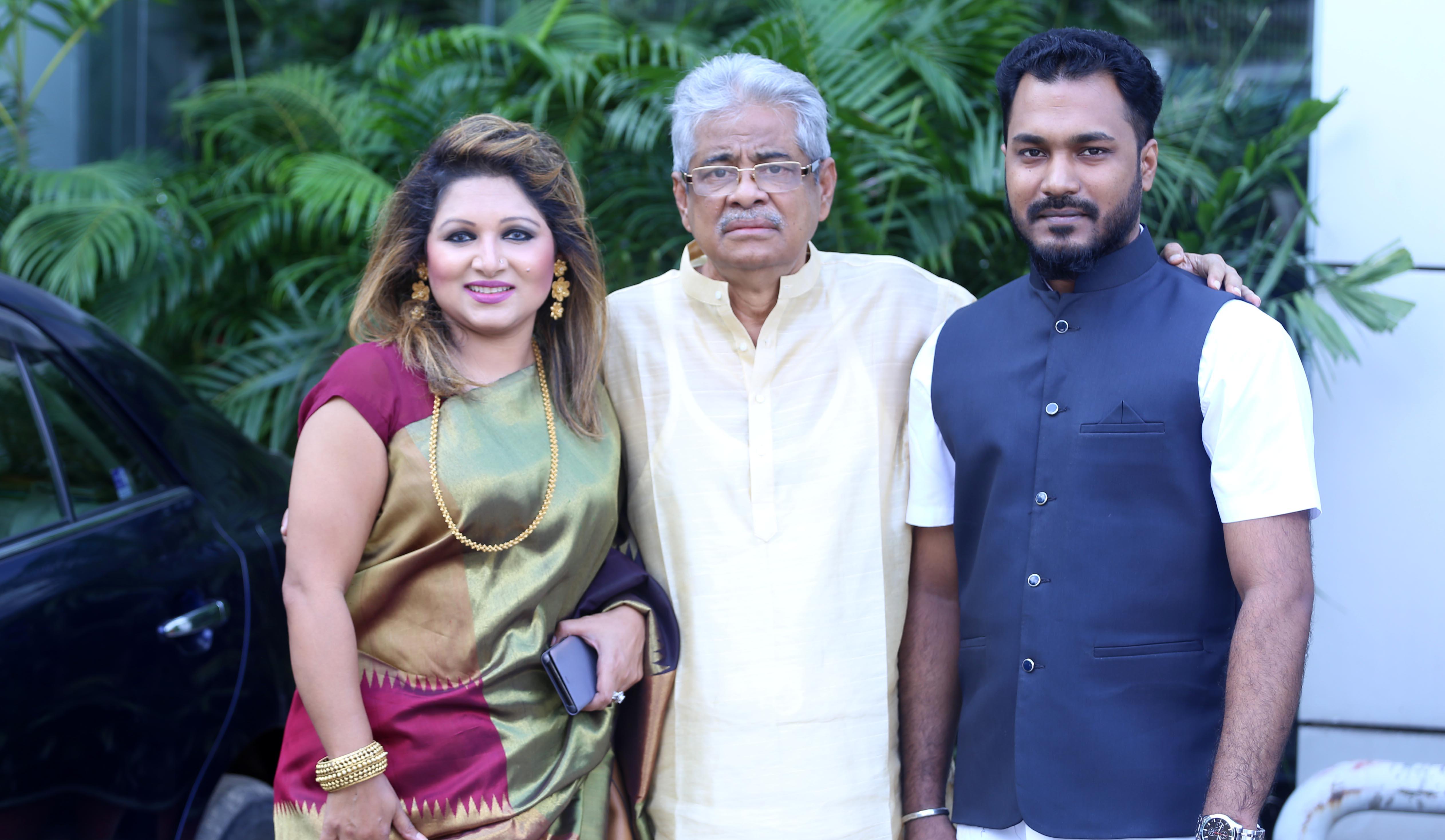 Dithi, Apu give voice to Gazi Mazhar's lyrics