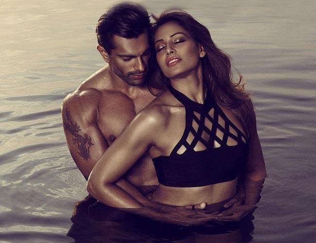 Bipasha and Karan raising the temp in steamy hot video