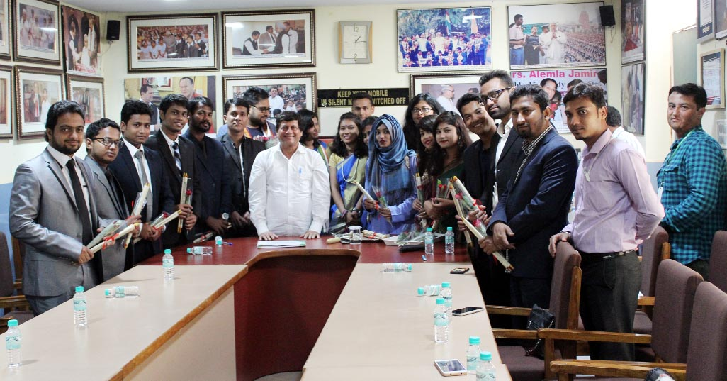 DIU team visits KISS under Int'l exchange program