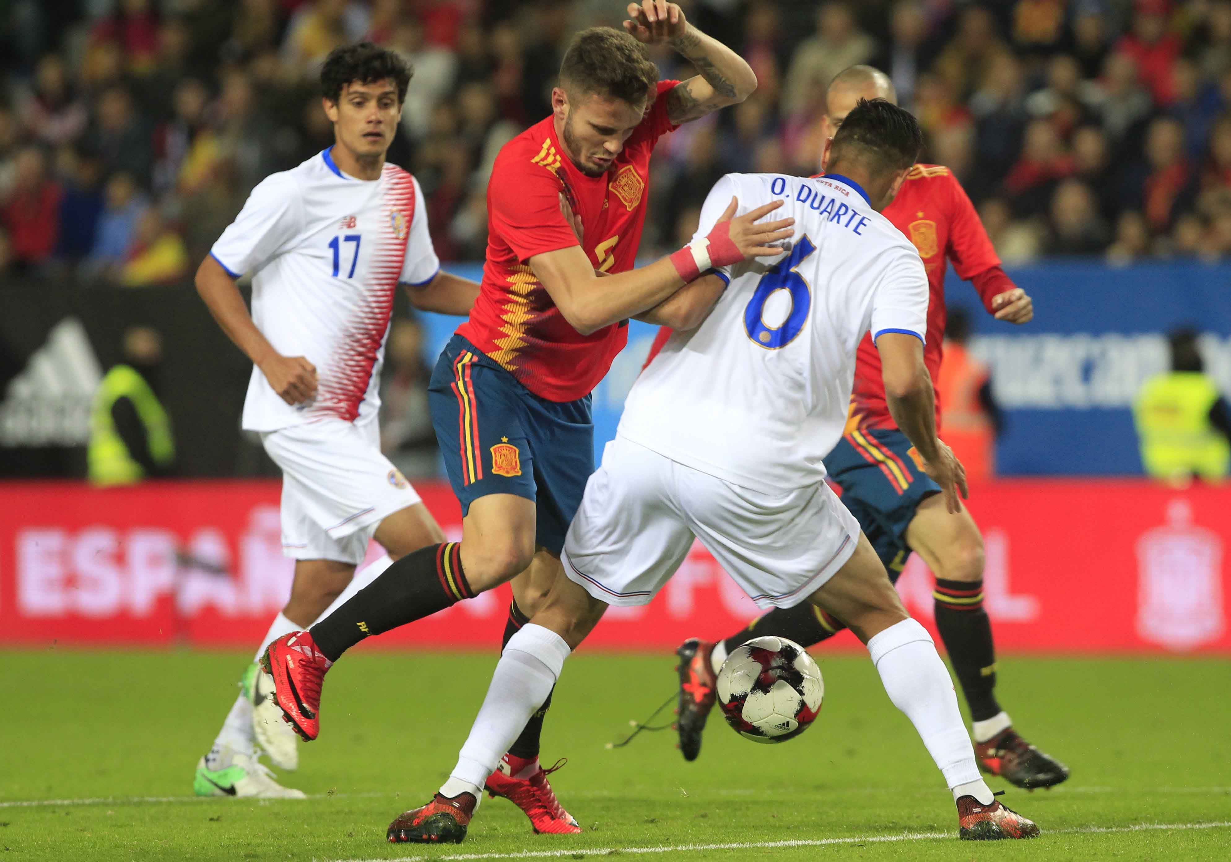Silva nets 2 as Spain rout Costa Rica 5-0 in friendly